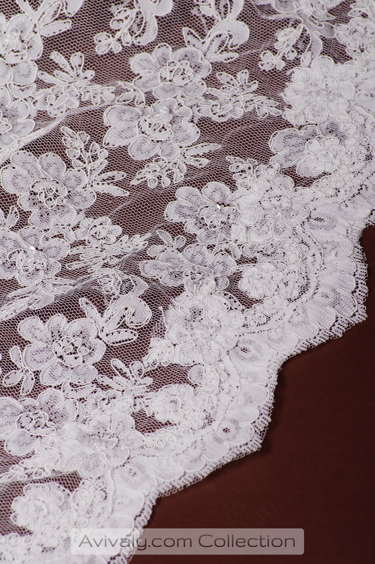 French Textured, Corded Lace