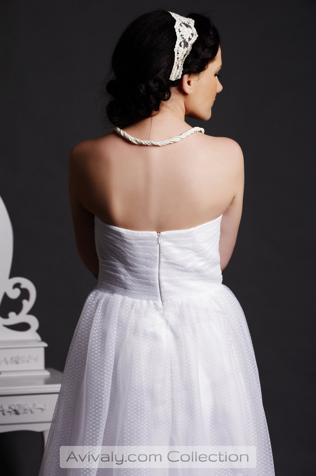 Nicola - Backless Rear View
