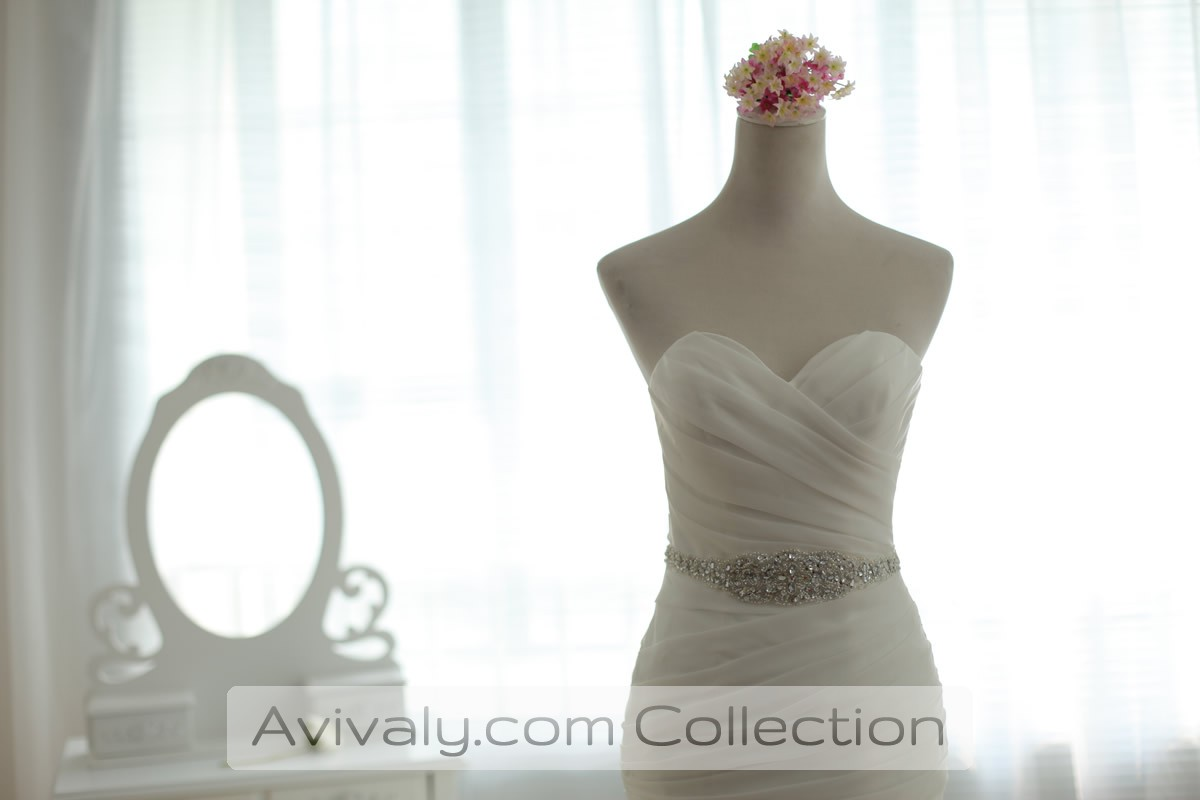 Fitted & Ruched Bodice