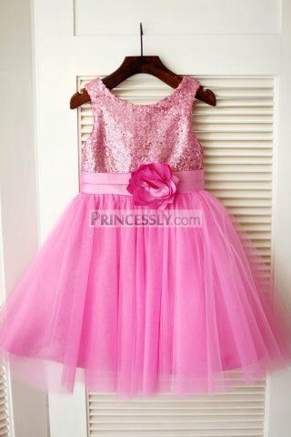 princessly-com-k1003346-hot-pink-sequin-tulle-wedding-flower-girl-dress-31