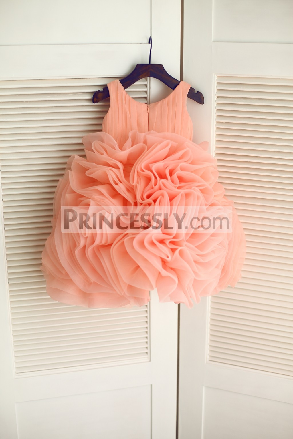 Luxury Organza Ball Gown Skirt in Ruffles