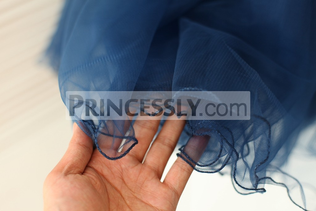 Curly Ruffles Hem Skirt