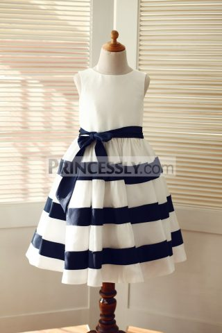 princessly-com-k1003311-ivory-navy-blue-taffeta-stripe-wedding-flower-girl-dress-31