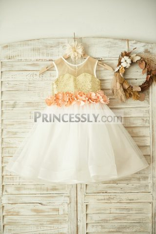 princessly-com-k1003357-sheer-neck-gold-sequin-ivory-tulle-wedding-flower-girl-dress-with-peach-pink-flower-31
