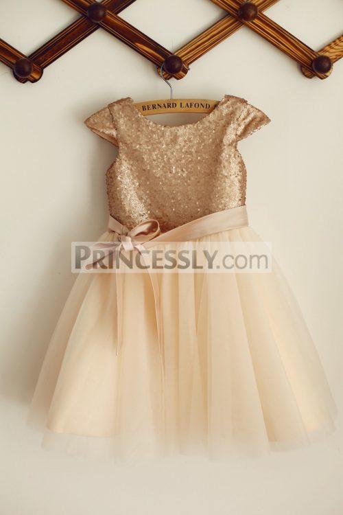 princessly-com-k1003384-cap-sleeves-champagne-sequin-tulle-wedding-flower-girl-dress-with-belt-31