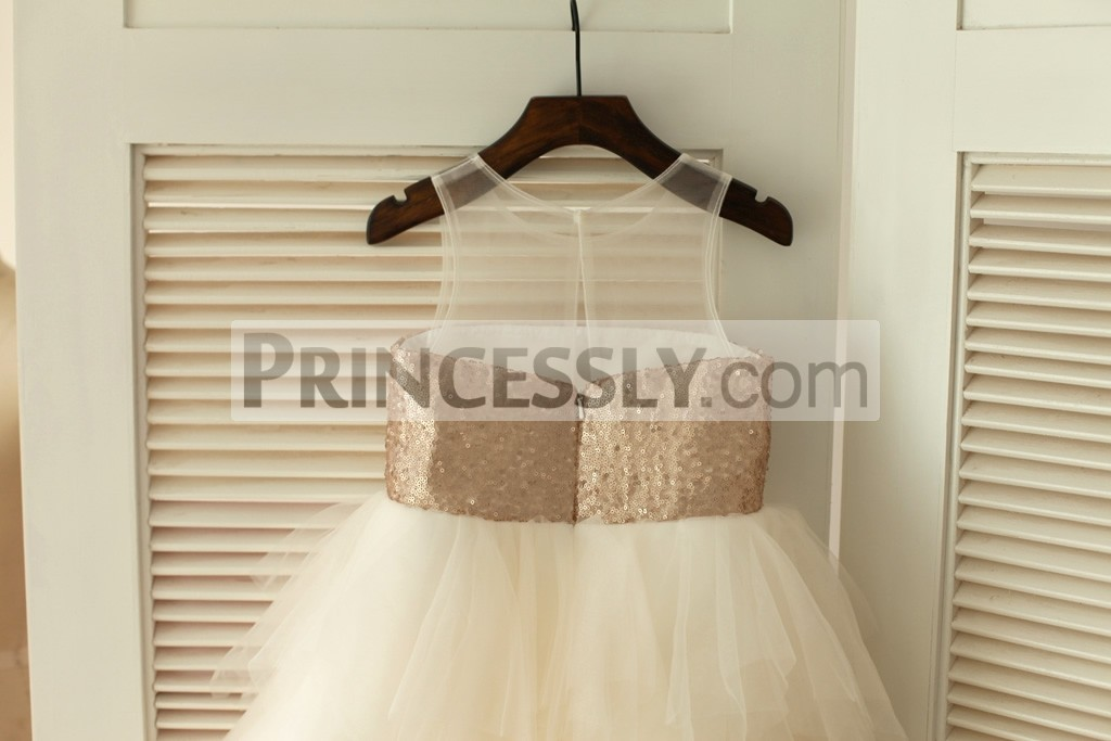 Ivory Feathered Tulle Skirt