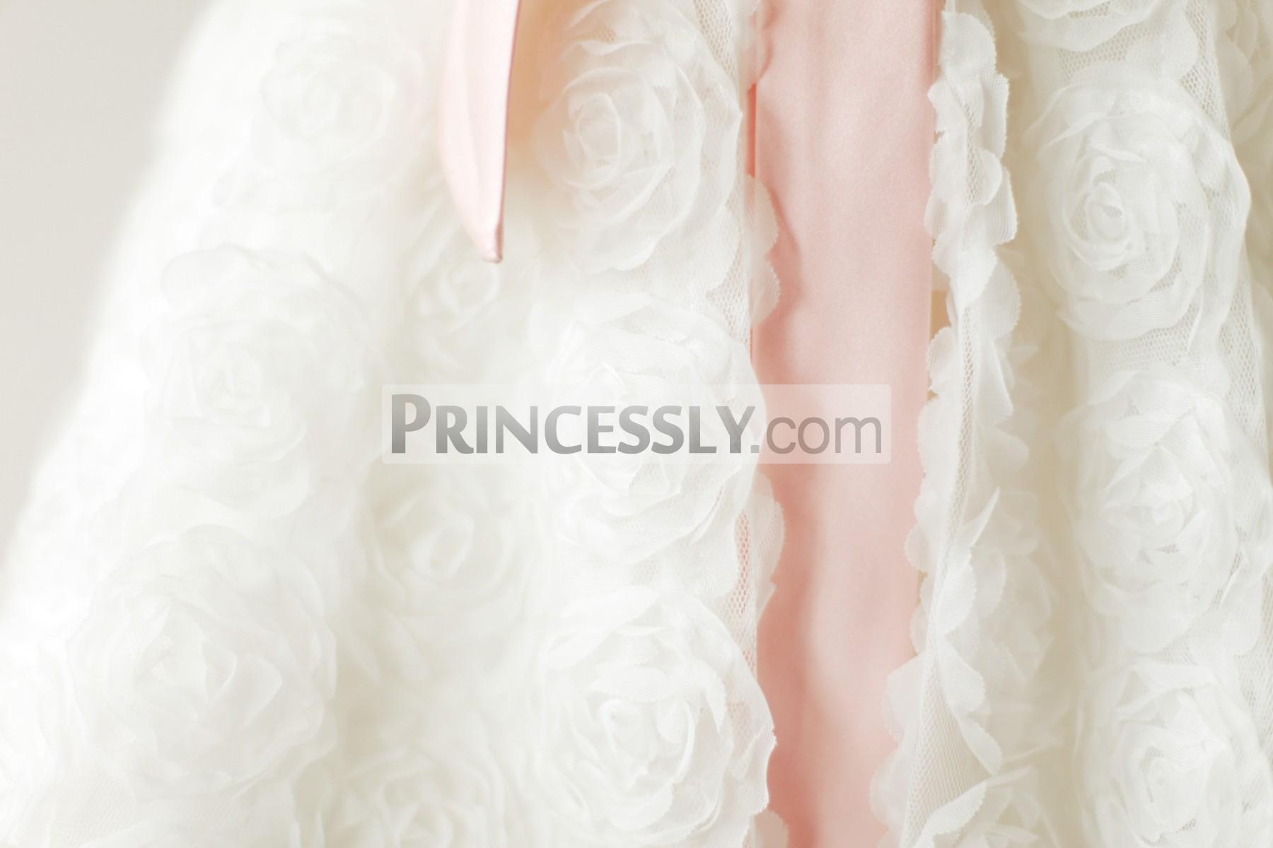 3D rosettes skirt