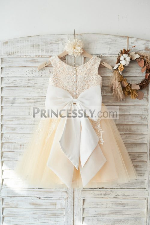 Princessly.com-K1003448-Ivory-Lace-Champagne-Tulle-Wedding-Flower-Girl-Dress-with-Big-Bow-32