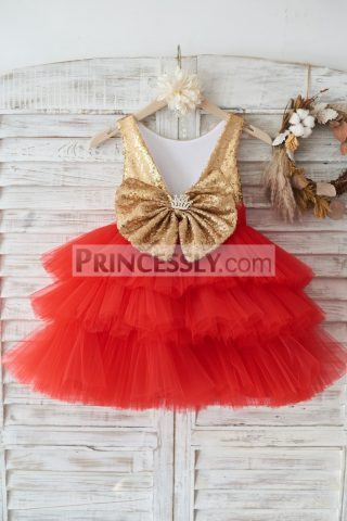 Princessly.com-K1003450-Gold-Sequin-Red-Cupcake-Tulle-Deep-V-Back-Wedding-Flower-Girl-Dress-Holiday-Party-Dress-31