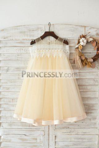 Princessly.com-K1003456-Boho-Beach-Off-Shoulder-Champagne-Tulle-Lace-Wedding-Flower-Girl-Dress-31