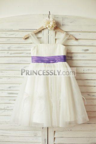 Princessly.com-K1000110-Thin-Straps-Ivory-Tulle-Lavender-Purple-Sash-Flower-Girl-Dress-31