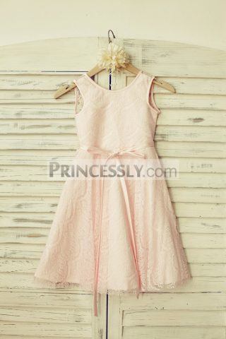Princessly.com-K1000116-Blush-Pink-Lace-V-Back-Flower-Girl-Dress-with-thin-sash-31