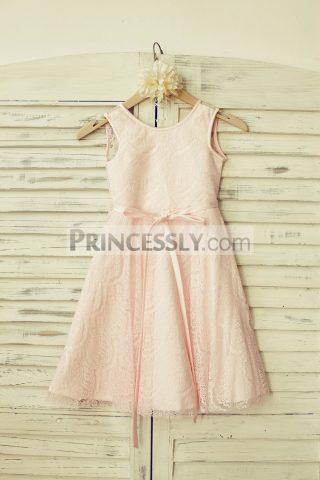 Princessly.com-K1000116-Blush-Pink-Lace-V-Back-Flower-Girl-Dress-with-thin-sash-31