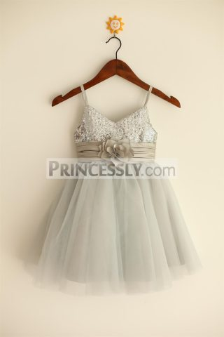 Princessly.com-K1000026-Thin-Straps-Silver-Sequin-Tulle-Flower-Girl-Dress-31