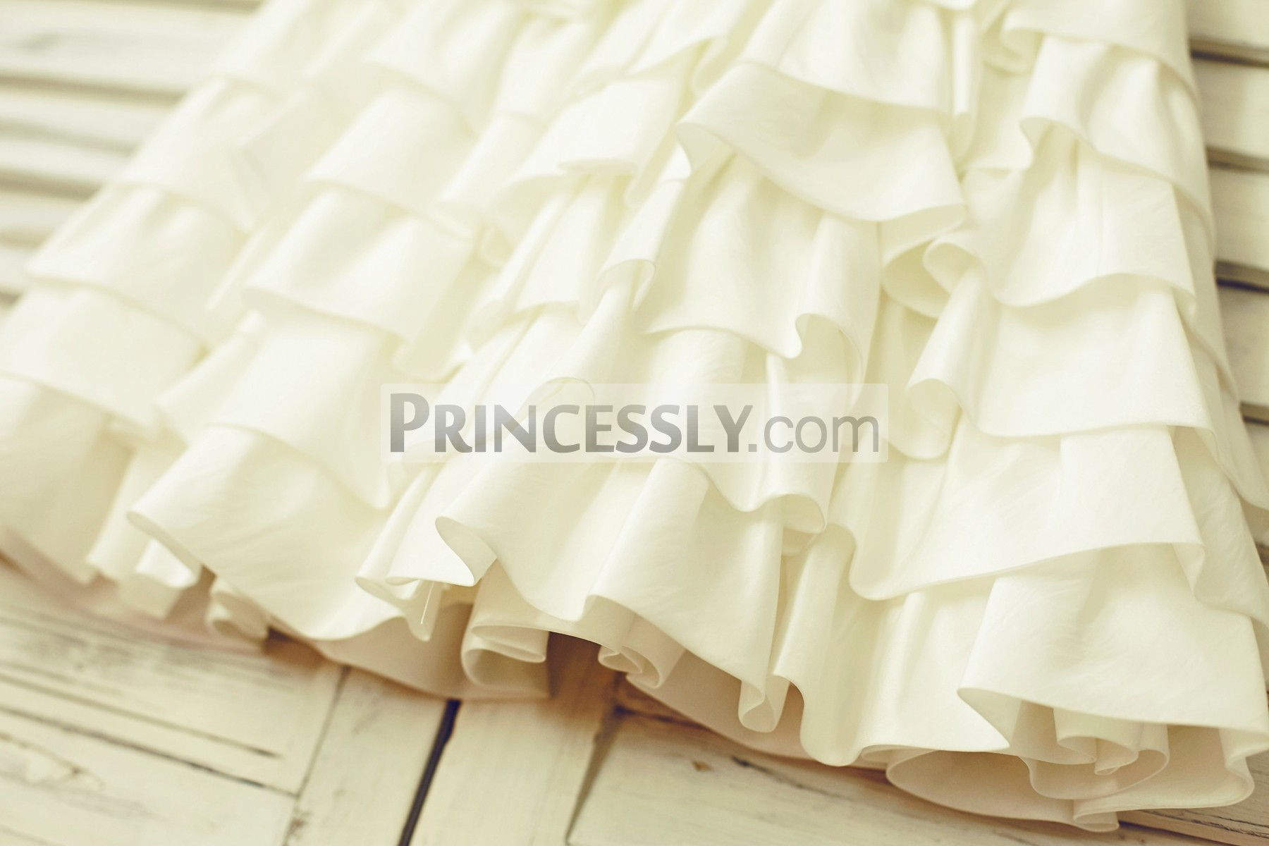 Multi-tiered cupcake skirt