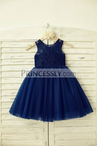 Princessly.com-K1000129-Navy-Blue-Lace-Tulle-Flower-Girl-Dress-31