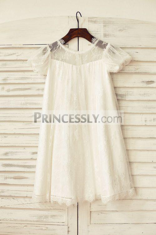 Princessly.com-K1000174-Short-Puffy-Sleeve-Ivory-Eyelash-Lace-Flower-Girl-Dress-31