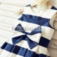 Princessly.com-K1000188-Ivory-Navy-Blue-Stripes-Satin-Flower-Girl-Dress-with-bow-35