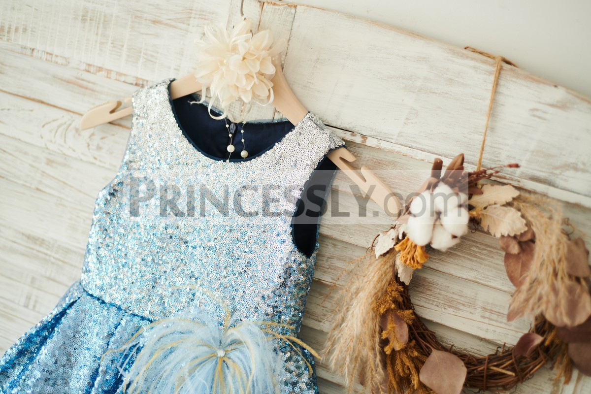 Modest Bodice with Feather on Waist