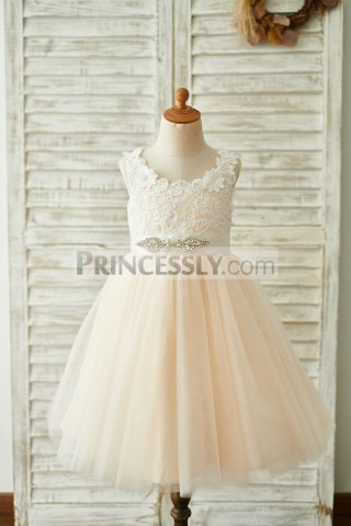 Princessly.com-K1003846-Champagne-Lace-Tulle-Deep-V-Back-Wedding-Party-Flower-Girl-Dress-with-belt-31