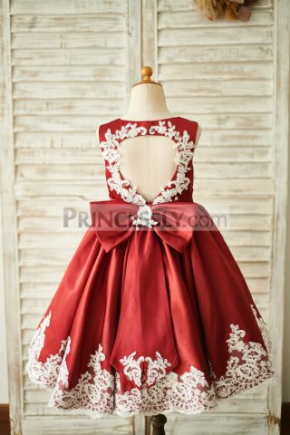 Princessly.com-K1003854-Burgundy-Satin-Ivory-Lace-Keyhole-Back-Wedding-Flower-Girl-Dress-31