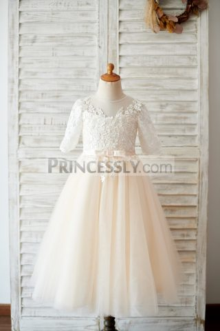 Princessly.com-K1003812-Princess-Short-Elbow-Sleeves-Ivory-Lace-Champagne-Tulle-Wedding-Flower-Girl-Dress-31