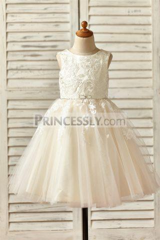 Princessly.com-K1000145-Champagne-Satin-Tulle-Flower-Girl-Dress-with-Beaded-Sash-31