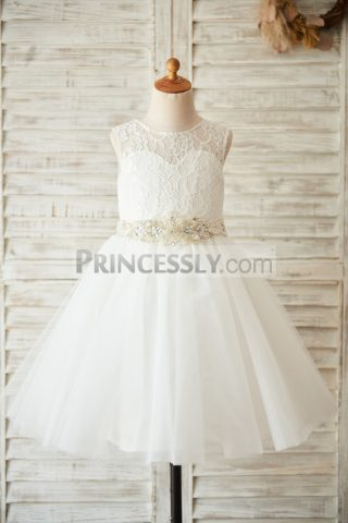 Princessly.com-K1003505-Ivory-Lace-Tulle-Wedding-Flower-Girl-Dress-with-Beaded-Belt-31