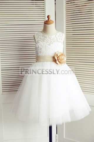Princessly.com-K1003510-Ivory-Lace-Tulle-Wedding-Flower-Girl-Dress-with-Champagne-Belt-Bow-31