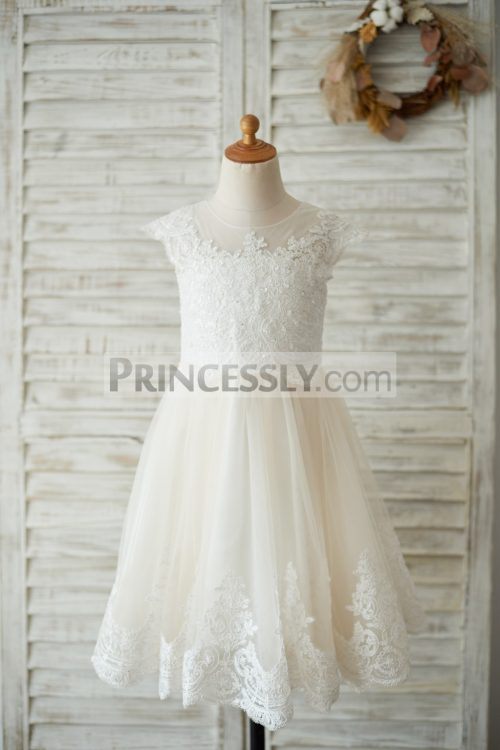 Princessly.com-K1003535-Ivory-Lace-Champagne-tulle-Cap-Sleeves-Wedding-Flower-Girl-Dress-with-Beading-31