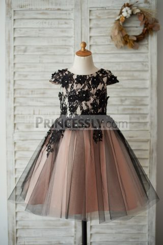 Princessly.com-K1003539-Cap-Sleeves-Black-Lace-Tulle-Mauve-Lining-Wedding-Flower-Girl-Dress-with-Beading-31