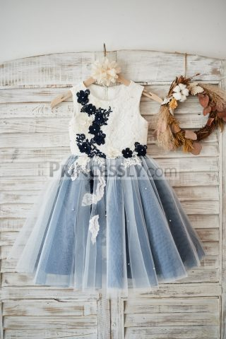 Princessly.com-K1003577-Ivory-lace-Silver-Gray-Tulle-Wedding-Flower-Girl-Dress-with-Navy-Blue-appliques-beads-31