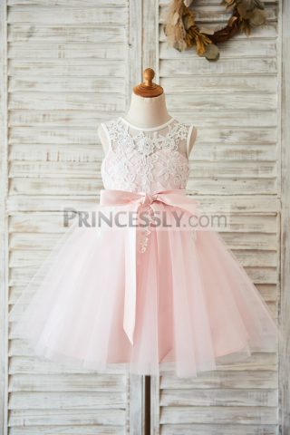 Princessly.com-K1003597-Ivory-Lace-Pink-Tulle-Wedding-Flower-Girl-Dress-with-V-Back-31