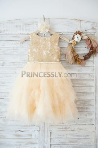 Princessly.com-K1003626-Gold-Lace-Champagne-Ruffle-Tulle-Wedding-Flower-Girl-Dress-with-Pearl-Belt-31