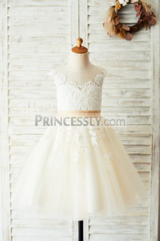 Princessly.com-K1003642-Ivory-Lace-Champagne-Tulle-Wedding-Party-Flower-Girl-Dress-with-V-Back-31