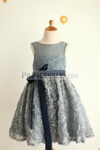 Princessly.com-K1000041-Gray-Lace-Rosette-Keyhole-Back-Flower-Girl-Dress-31