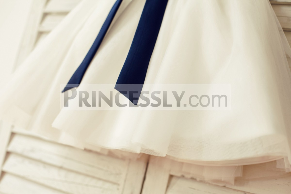 Princess ivory tulle skirt