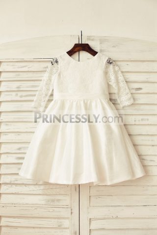 Princessly.com-K1000159-Ivory-Long-Lace-Sleeves-Taffeta-Flower-Girl-Dress-31