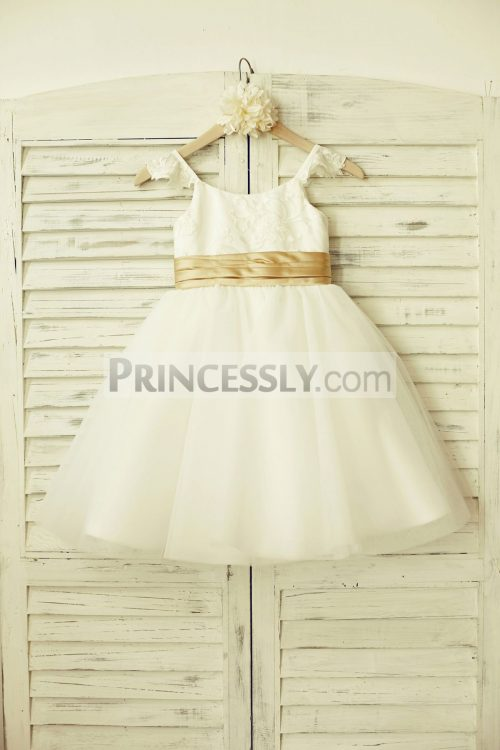Princessly.com-K1000179-Ivory-Lace-Tulle-Flower-Girl-Dress-with-champagne-sash-31