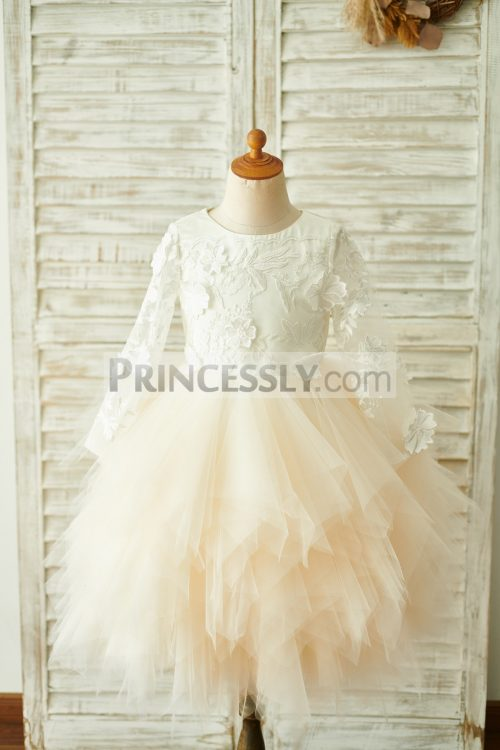 Princessly.com-K1003850-Ivory-Lace-Champagne-Tulle-Long-Sleeves-Wedding-Flower-Girl-Dress-31
