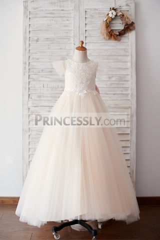 Princessly.com-K1003882-Ivory-Lace-Champagne-tulle-Ruffle-Sleeves-Sheer-Back-Wedding-Flower-Girl-Dress-31
