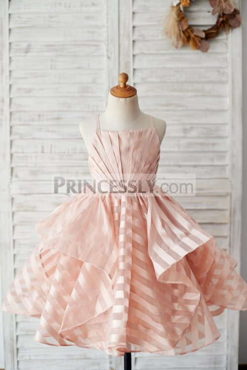 Princessly.com-K1003885-Peach-Pink-Stripe-Organza-Spaghetti-Straps-Wedding-Flower-Girl-Dress-33