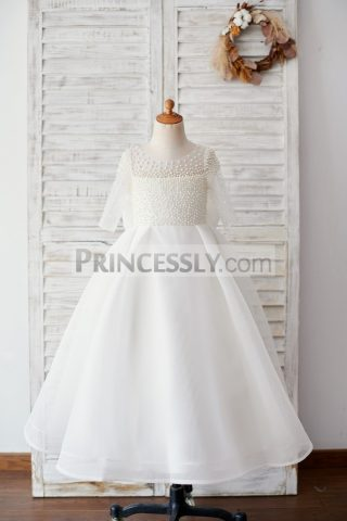 Princessly.com-K1003888-Elbow-Sleeves-Beaded-Neoprene-Tulle-Wedding-Flower-Girl-Dress-with-Bow-31