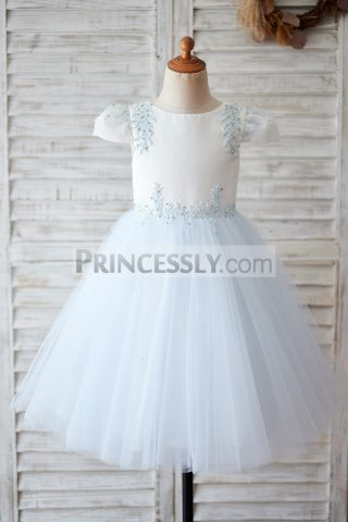 Princessly.com-K1003900-Ivory-Satin-Blue-Tulle-Cap-Sleeves-V-Back-Beaded-Wedding-Flower-Girl-Dress-31
