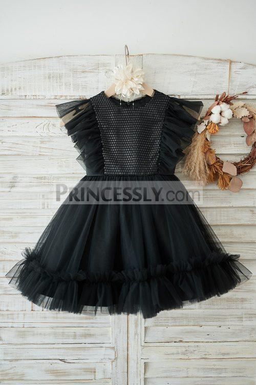 Princessly.com-K1003906-Black-Sequin-Tulle-Ruffle-Sleeves-Wedding-Flower-Girl-Dress-31