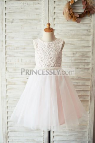 Princessly.com-K1003926-Ivory-Lace-Pink-Tulle-Open-Back-Wedding-Flower-Girl-Dress-with-Pearls-31
